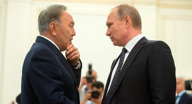 Назарбаєв Путін