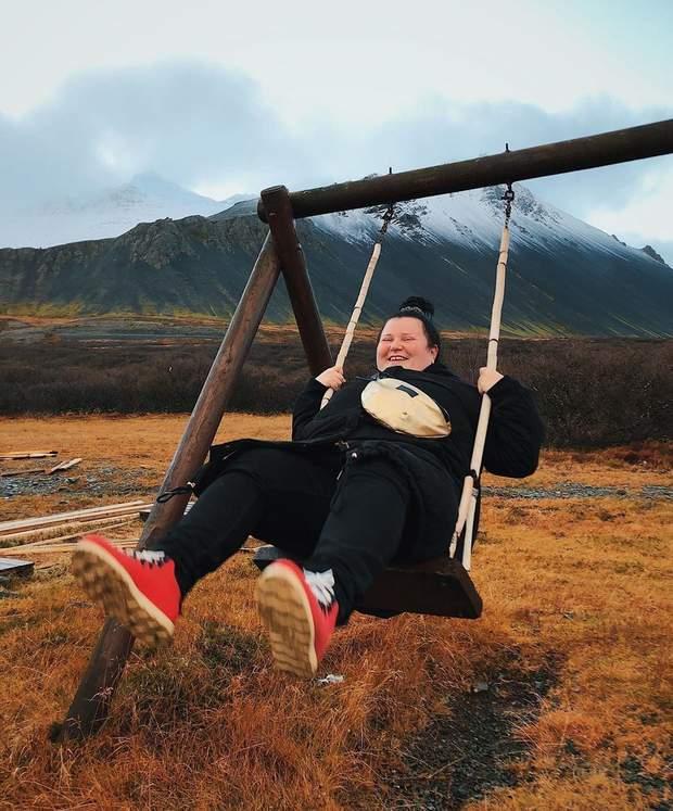 Українська реперка в Ісландії