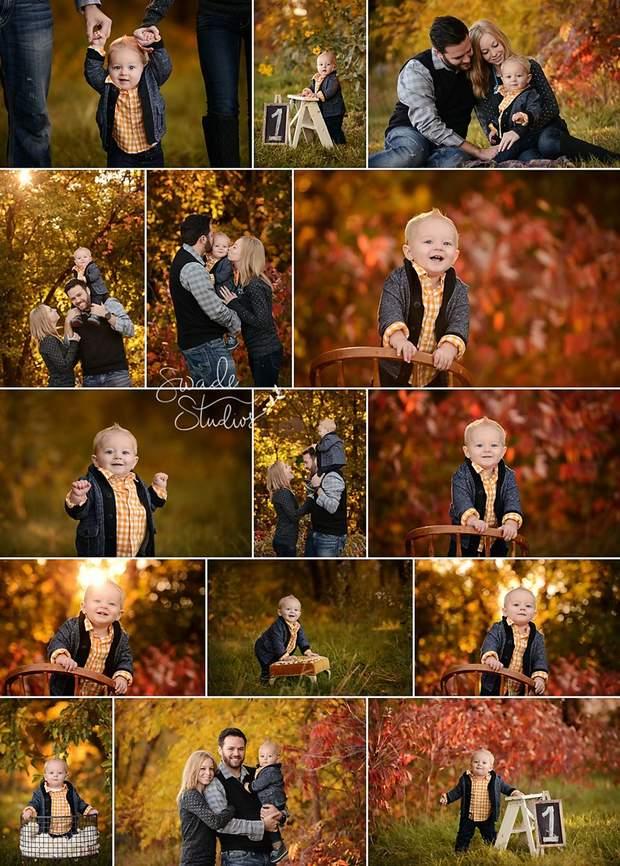 Ідеї оригінальних сімейних фотосесій на осінь: мила фотодобірка та поради