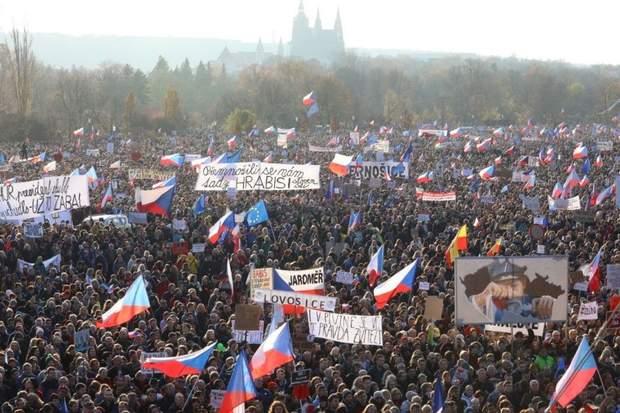 Рротести у Чехії