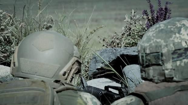 Українці замаскували свої позиції