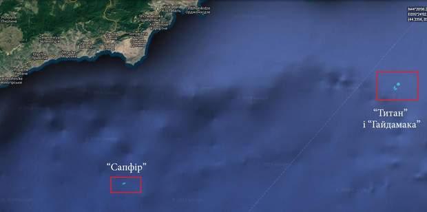 Кораблі, передача, повернення, Чорне море