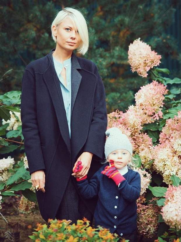 Катерина зі своєю донькою Ладою