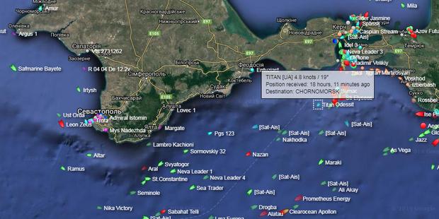 Повернуті Росією кораблі змінили маршрут: пливуть в інший порт