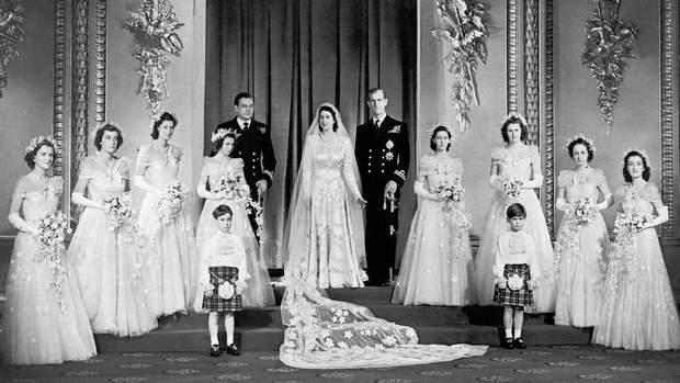 Весільна фотосесія Єлизавети ІІ