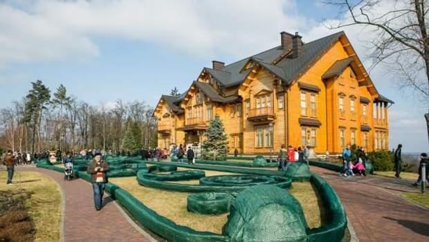Межигіря, резиденція Януковича