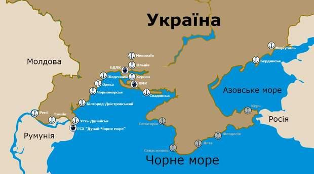 українські морські порти