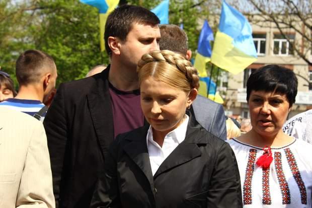 Володимир Зеленський, Юлія Тимошенко, словесна перепалка