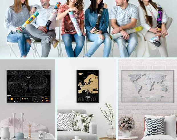 1DEA.me популярна скетч-картами та дизайнерськими подарунками