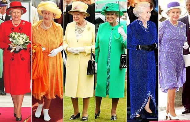 Яскраві образи королеви Єлизавети ІІ