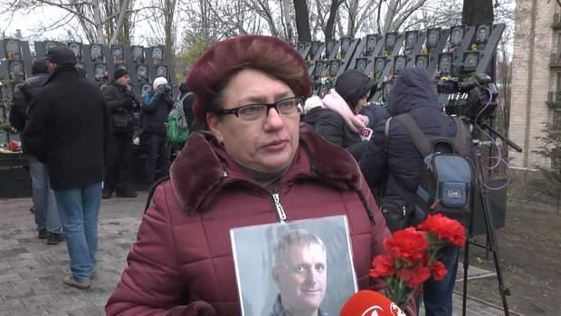 Людмила Корнєєва прийшла , аби пом'янути чоловіка
