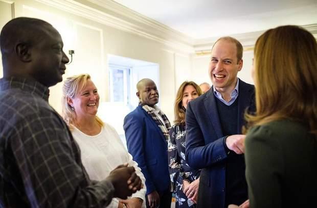 Принц Вільям і Кейт Міддлтон у Лондоні