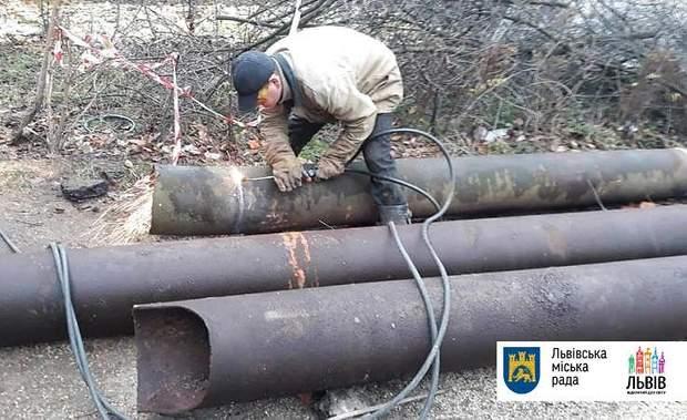 Львівтеплоенерго допомагали колегам вирішити проблему