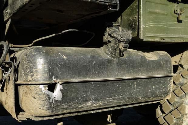 оос війна на донбасі ракета авто вантажівка