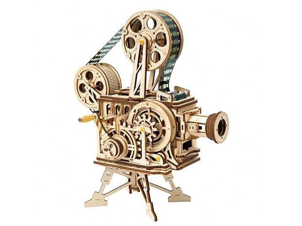 3D Puzzle Movement Assembled Wooden Vitascope.