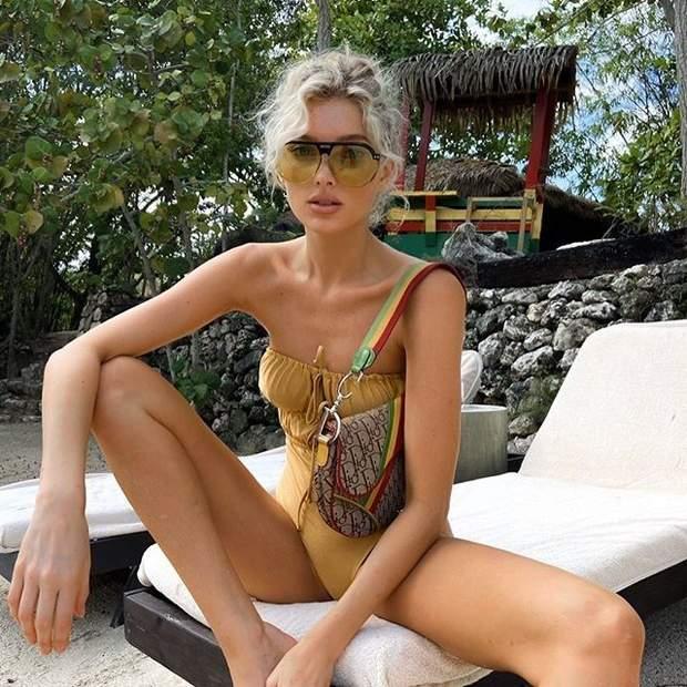 Ельза Госк у купальнику