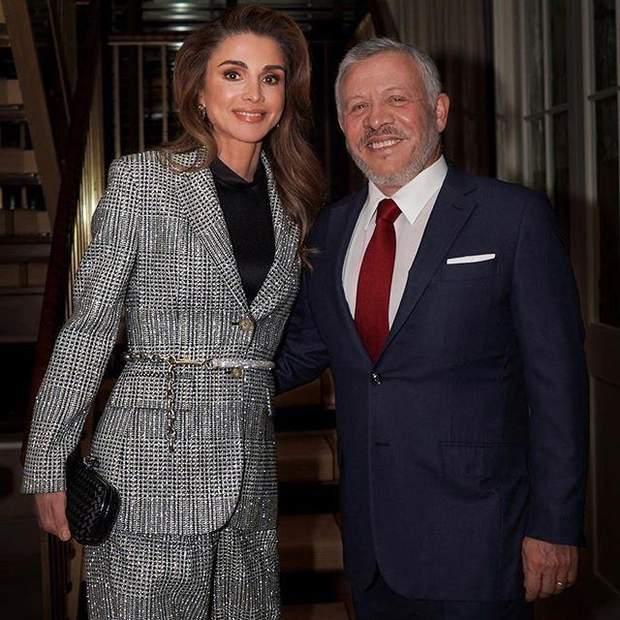 Король та королева Йорданії в Нью-Йорку