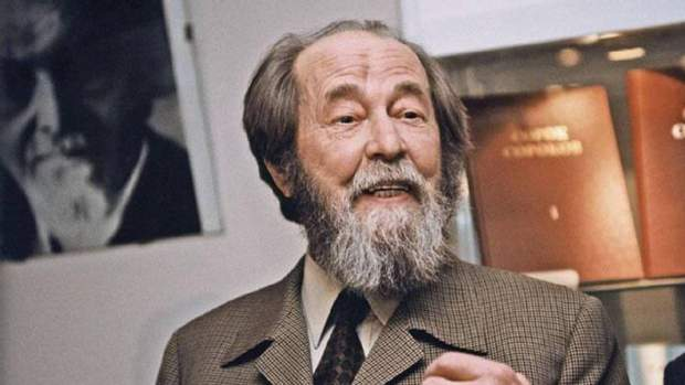 Письменник Олександр Солженіцин