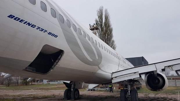 літак аварія одеса