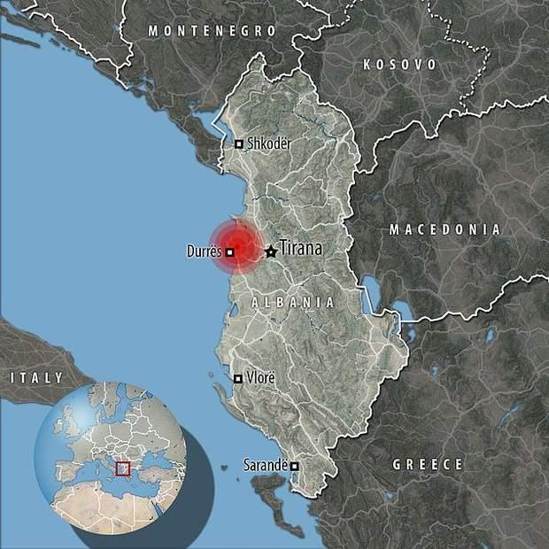 В Албанії найпотужніший за десятиліття землетрус: є жертви