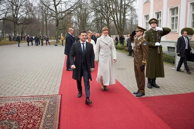 Президенти України та Естонії