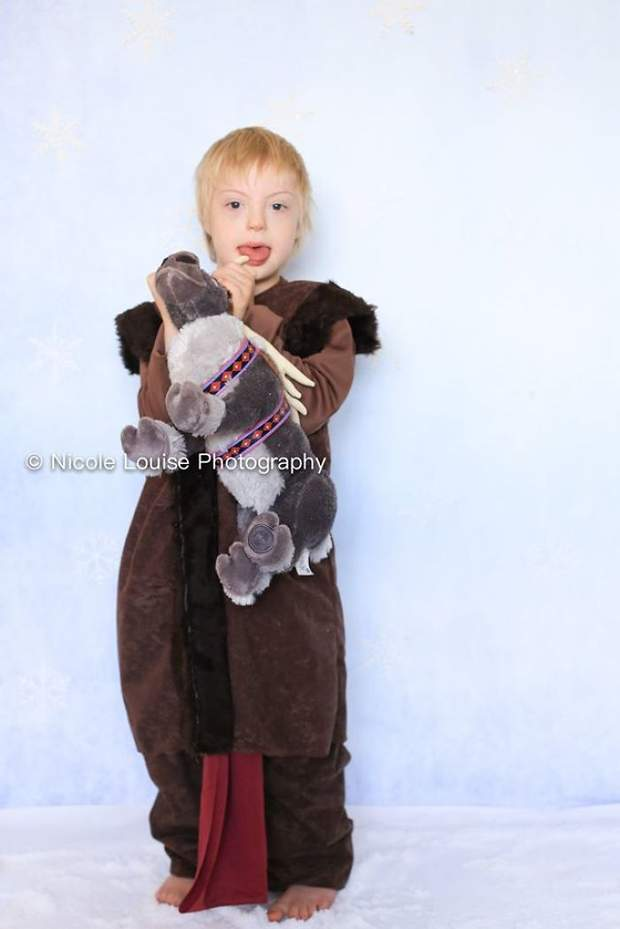 Діти з синдромом Дауна у рекламній кампанії