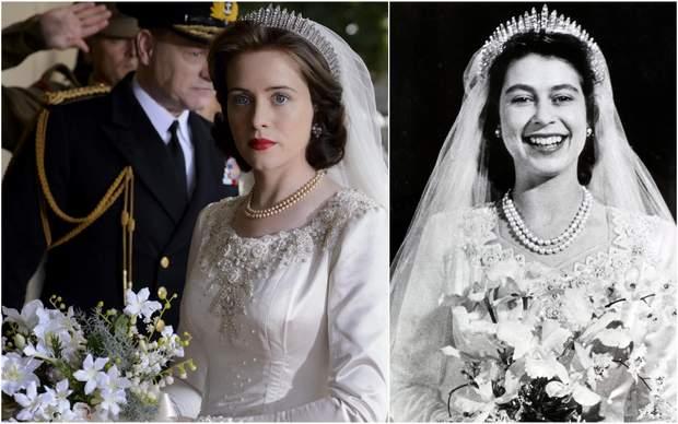 Клер Фой Єлизавета ІІ актори і ролі корона