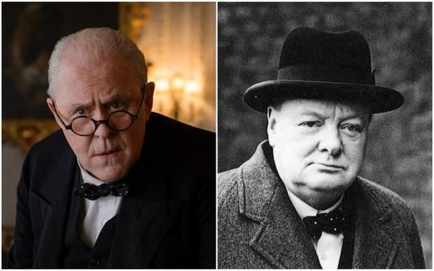 Корона актори ролі Черчиль