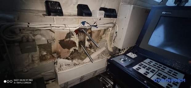 катери пробоїни викрадена техніка кораблі українські кораблі Росія