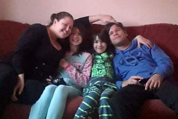 Подружжя з дітьми