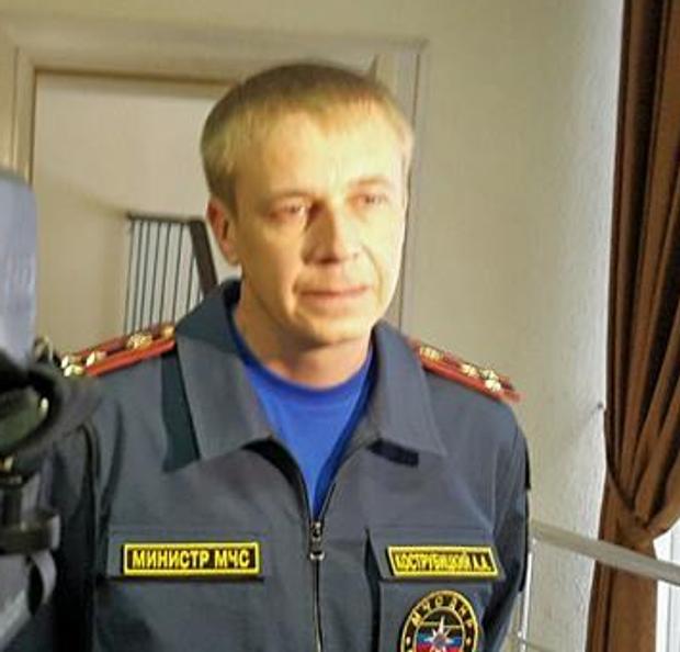 міністр МНС ДНР Кострубицький