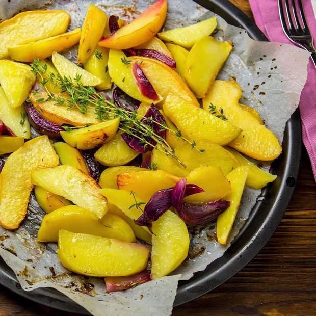 картопля з айвою