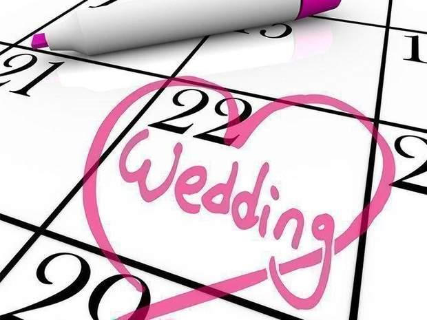 Дата весілля є дуже важливою