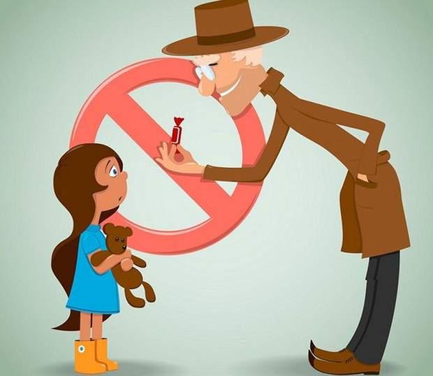 Навчіть дитину не спілкуватися з незнайомцями