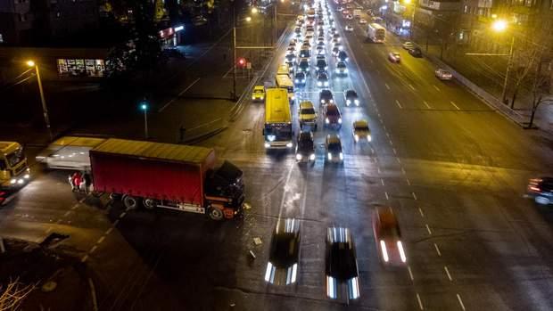 аварія Дніпро вантажівка маршрутка