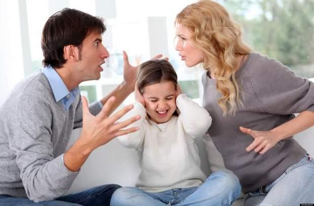 Сварки в сім'ї руйнують життя подружжя та їх дитини