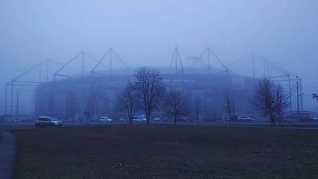 туман у Харкові