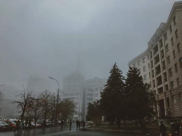 туман Харків