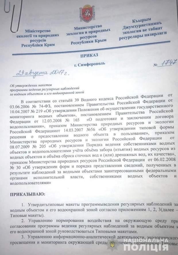 документи Росія анексія Криму
