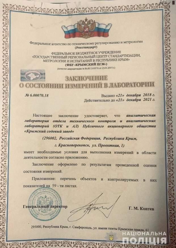документи російські документи Крим окупанти надра