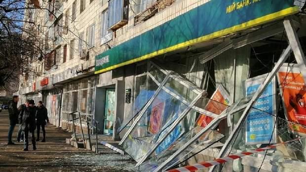 ощадбанк підрив банкомат вибух