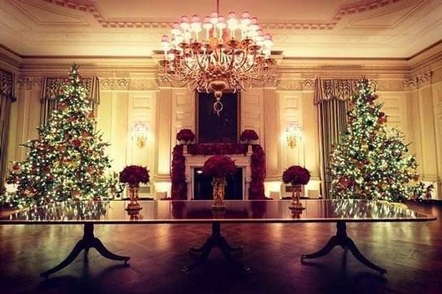 Різдвяний декор Білого дому