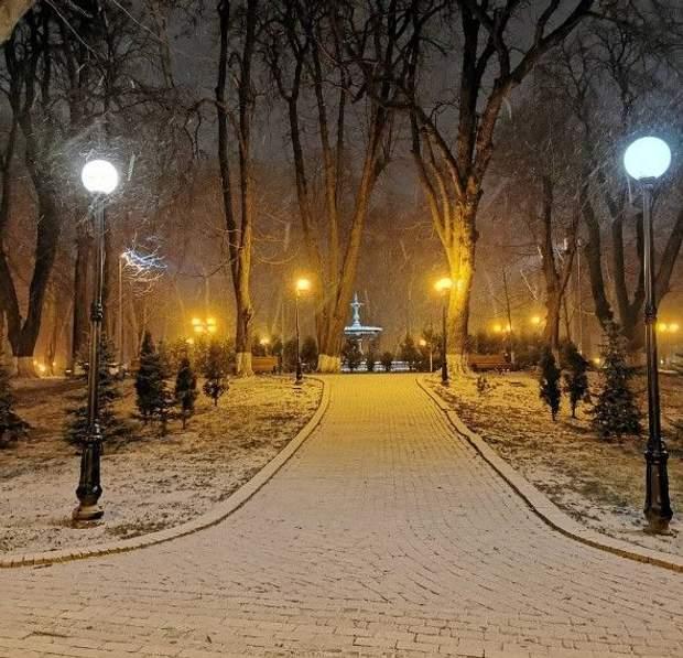 зима Київ