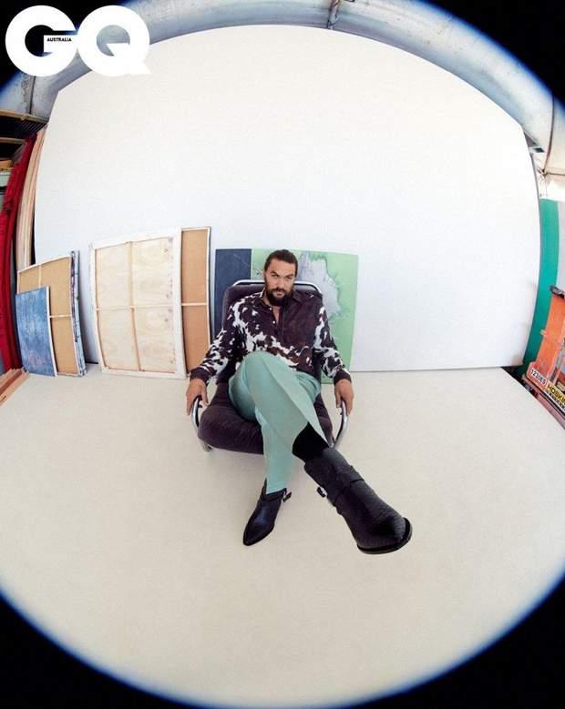 Актор Джейсон Мамоа у стильній зйомці