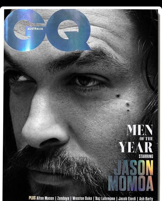 Обкладинка журналу з Джейсоном Мамоа
