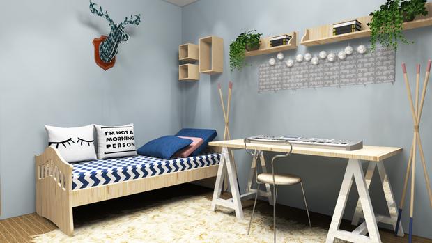 Скандинавский дизайн сделает даже маленькую комнату уютной