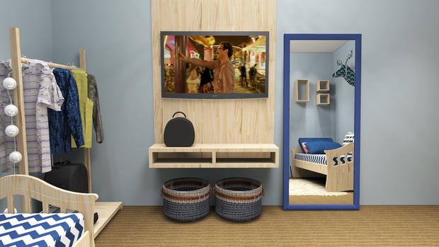 Комнату в общежитии можно обустроить стильно