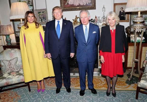 Принц Чарльз і Камілла на зустрічі з Трампами