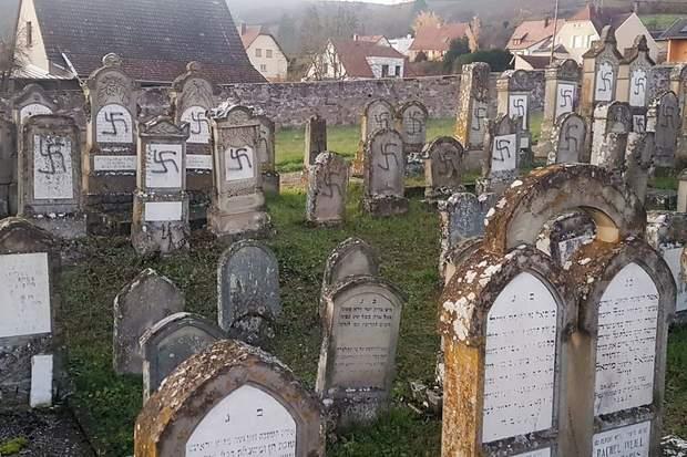 євреї франція могили