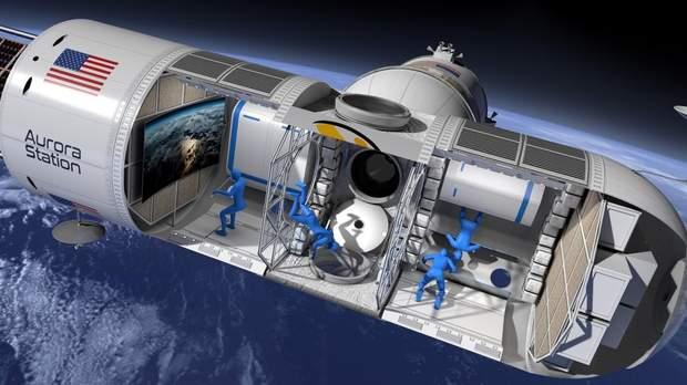 Орбитальный отель для космических туристов Aurora заработает в 2024 году
